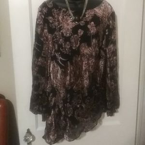 Papell Boutique evening blouse